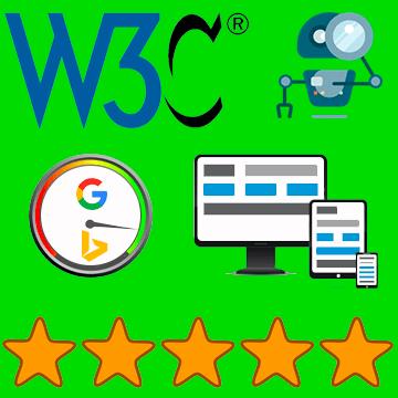 Qualité Web: W3C, SEO, Ux Design, Responsive